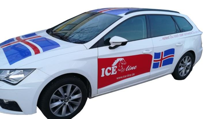 Das Sattelmobil von ICE-line.