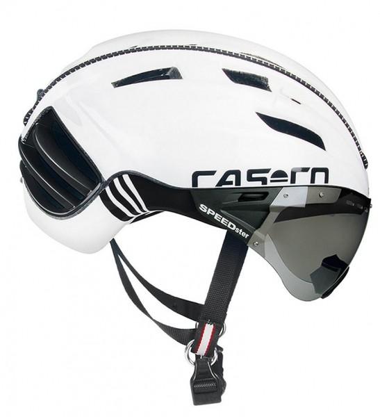 CASCO SPEEDster Reiterhelm in schwarz-weiß.