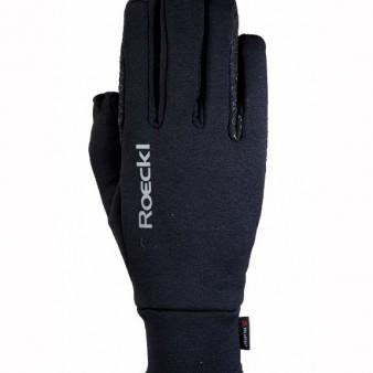 Roeckl Reithandschuh Weldon - Polartec® in schwarz