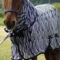 RugBe Zebra Fliegen- & Ekzemerdecke mit Halsteil 4