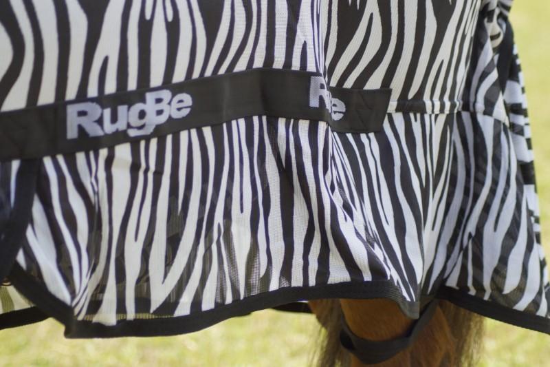 RugBe Zebra Fliegen- & Ekzemerdecke mit Halsteil 7