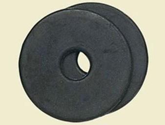 Gebiss-Scheibe aus Gummi in schwarz bei ICE-line kaufen