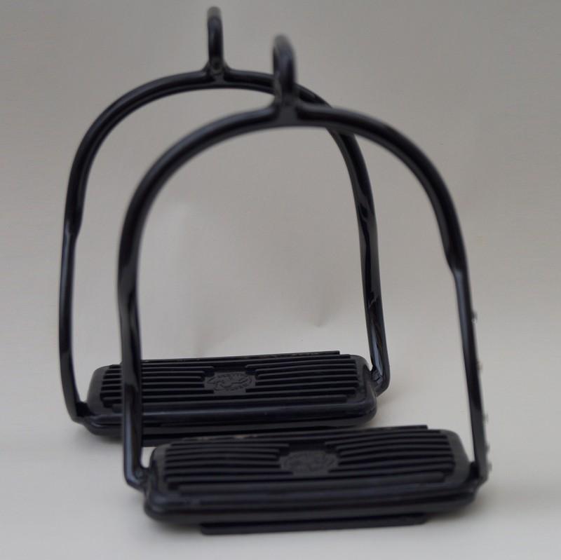 Steigbügel mit Strasssteinen - Black Edition 3