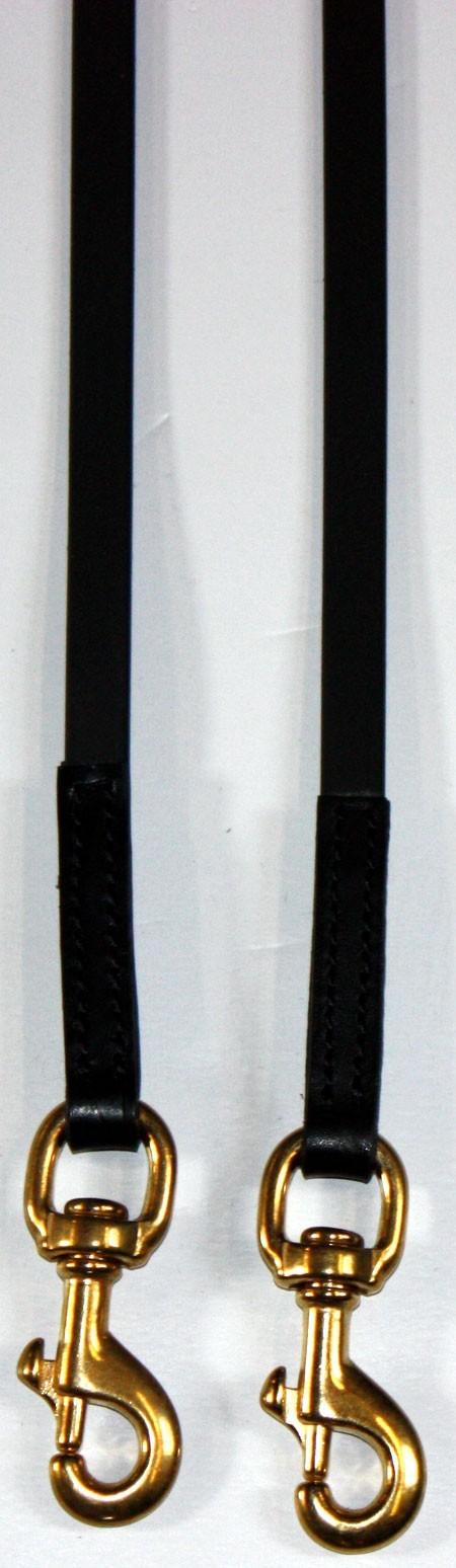 BioThane Zügel, schwarz 3