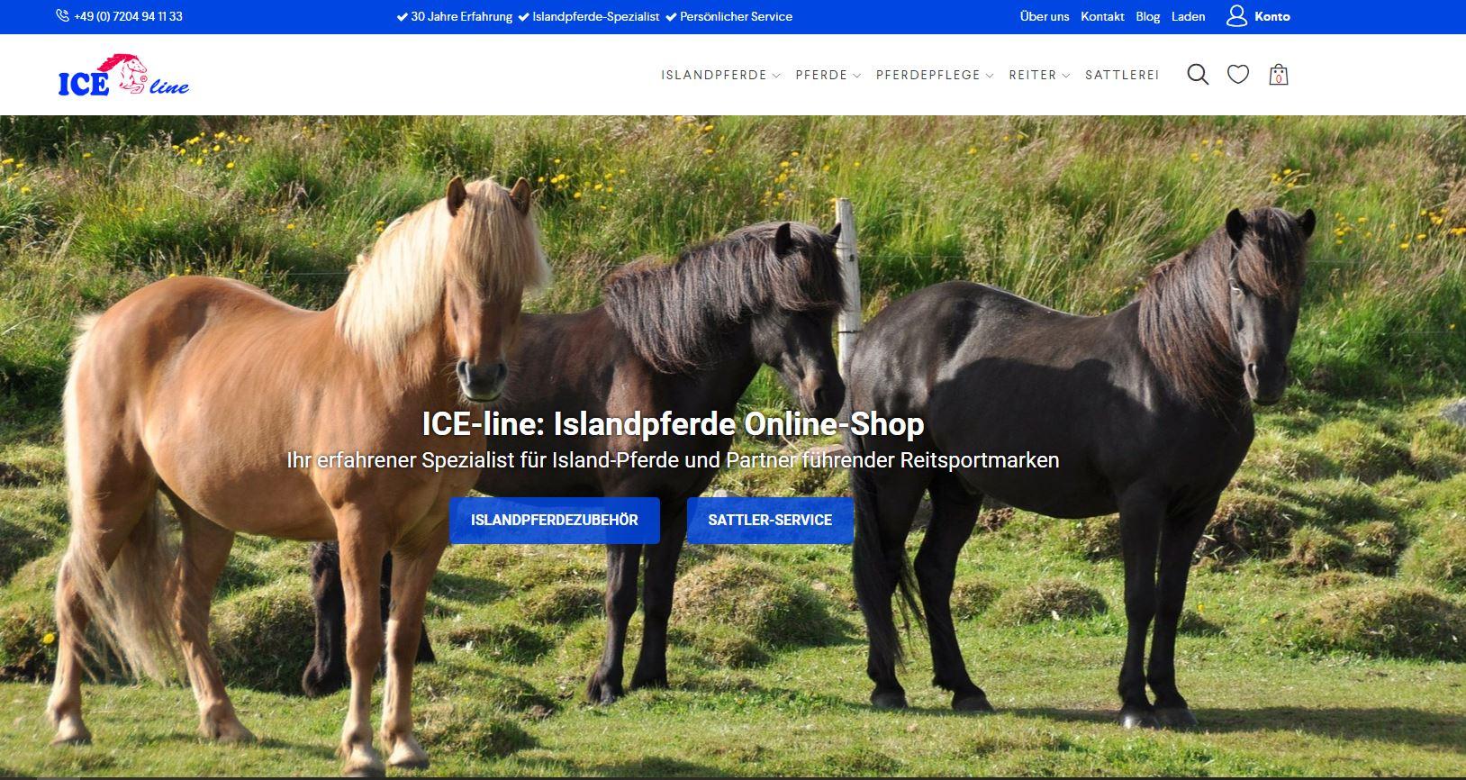 Neuer ICE-line Online Shop 5