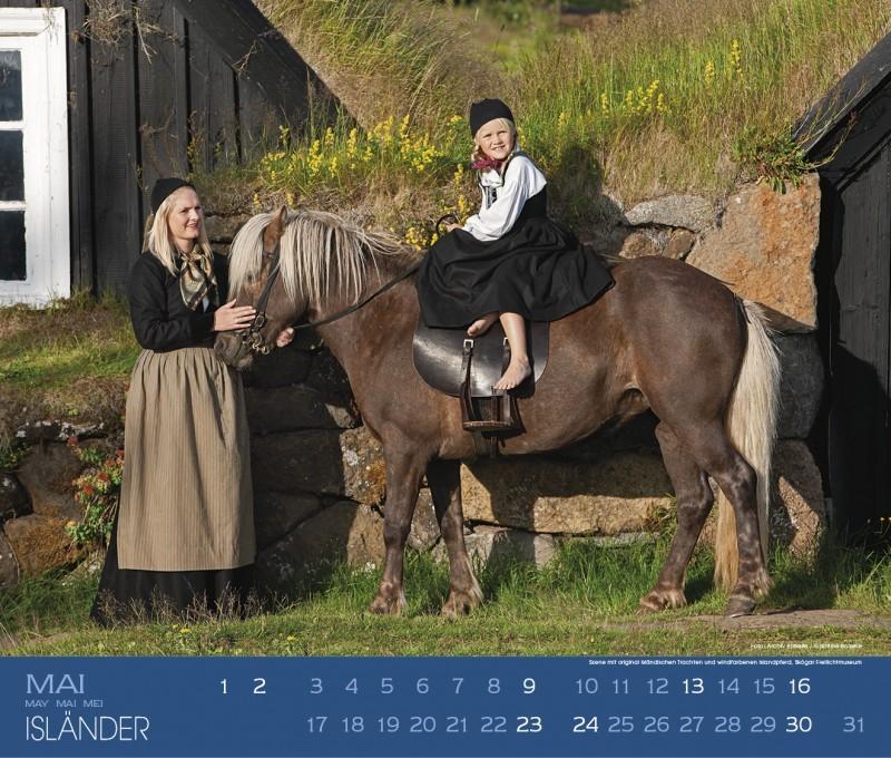 Kalender ISLÄNDER - Edition Boiselle 5
