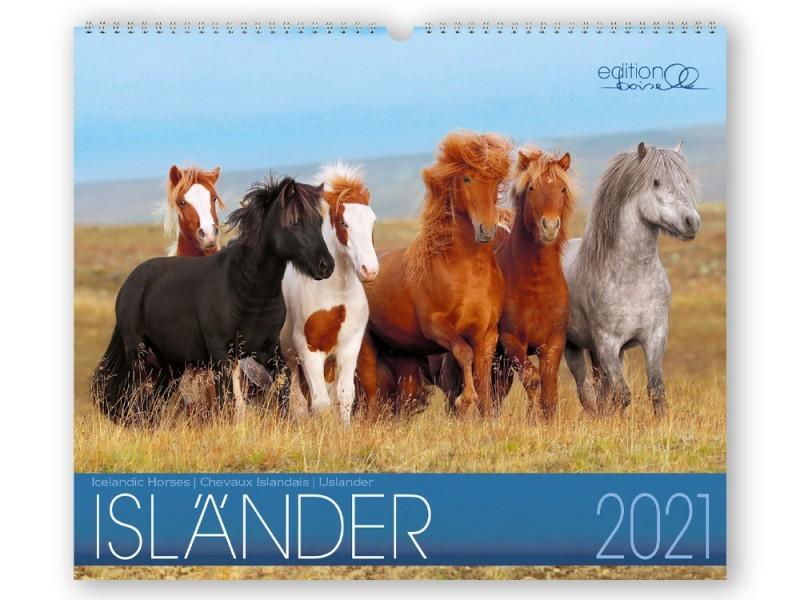Kalender ISLÄNDER - Edition Boiselle 1