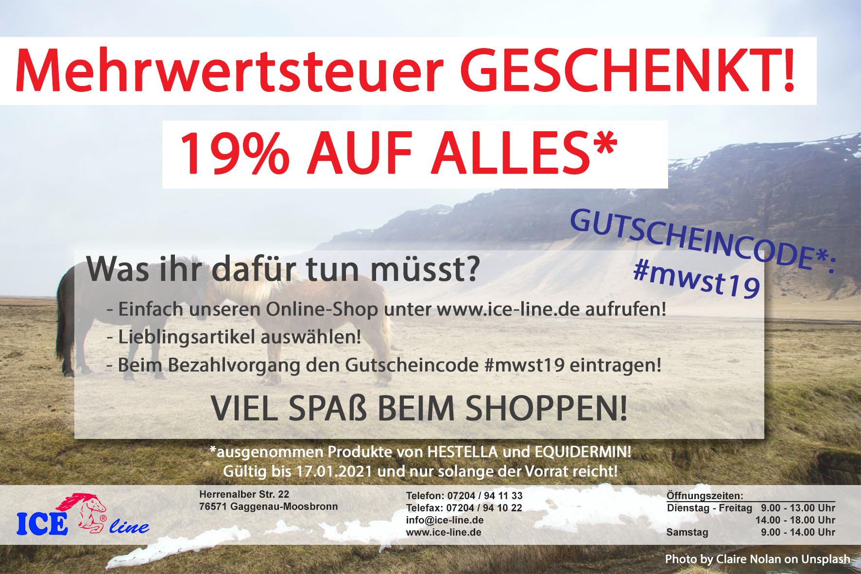 Mehrwertsteuer GESCHENKT! 1