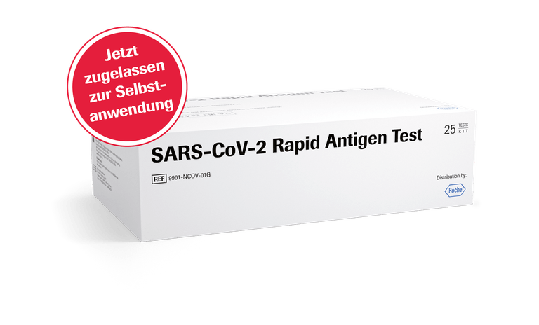 Roche Corona Schnelltest - Antigen Test 1