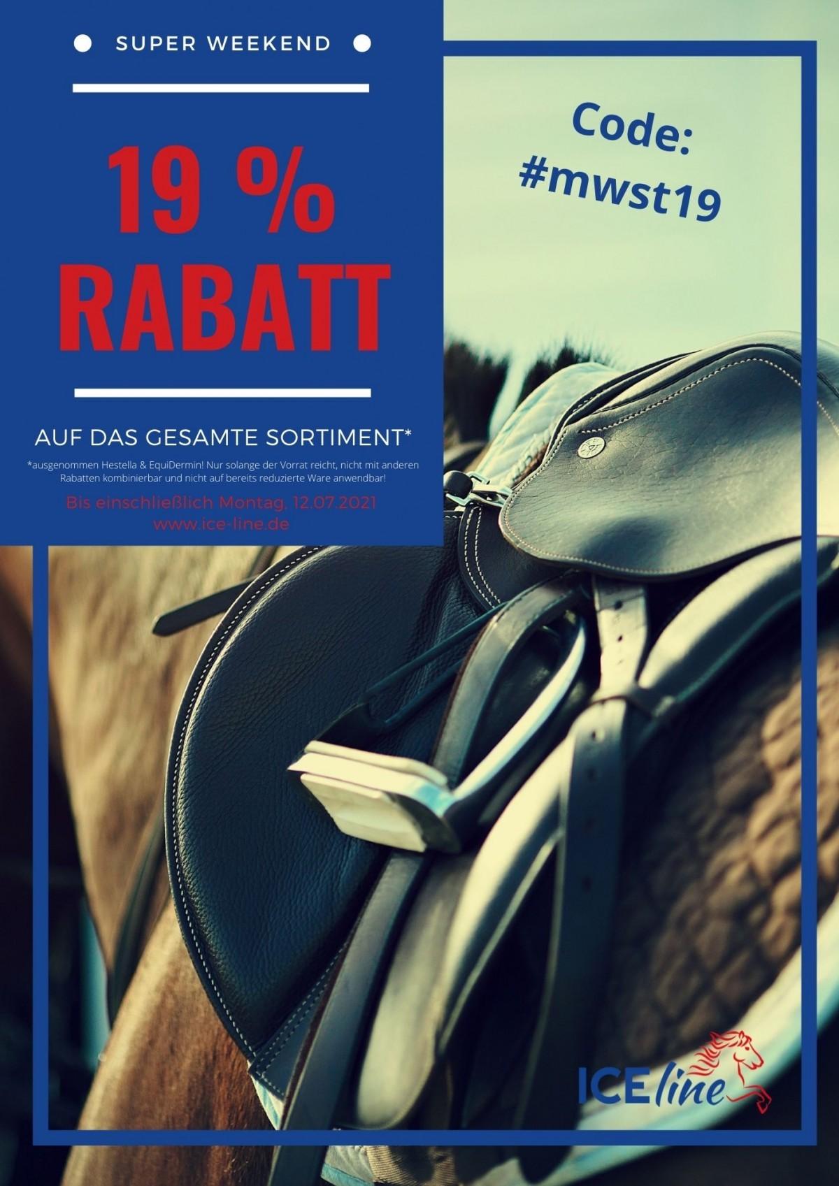 SUPER WEEKEND - 19% Rabatt! 2